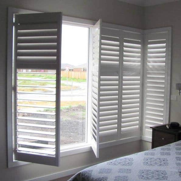 Shutters in Tamworth home