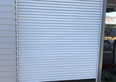 Duralsat Privacy Screen installed by North West Shutters