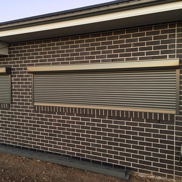 Roller Shutters from outside