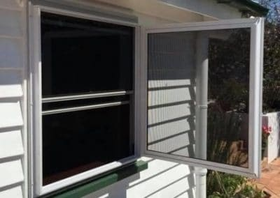 Window screen installed in Tamworth