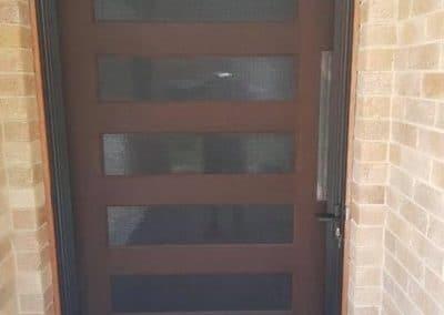 Screen door installed in Tamworth