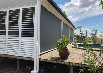 Ziptrak® Blinds installed by North West Shutters